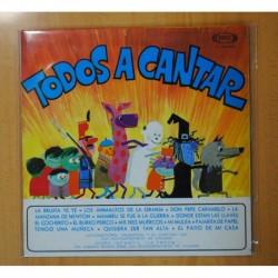 VARIOS - TODOS A CANTAR - LP