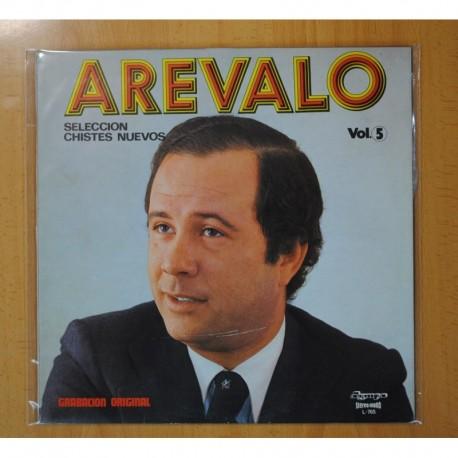 AREVALO - SELECCION DE CHISTES NUEVOS VOL. 5 - LP