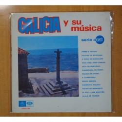 VARIOS - GALICIA Y SU MUSICA - LP