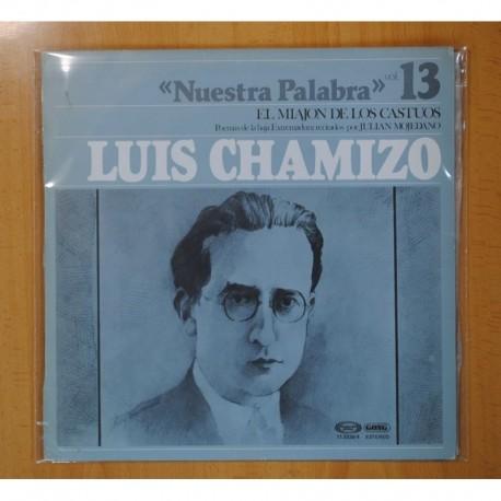 JULIAN MOJEDANO - LUIS CHAMIZO NUESTRA PALABRA VOL 13 - LP