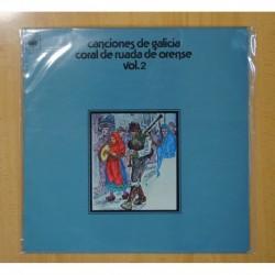 CORAL DE RUADA DE ORENSE - CANCIONES DE GALICIA VOL.2 - LP