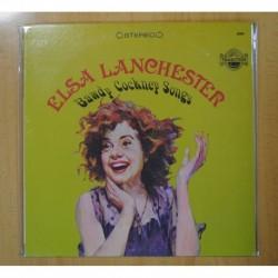 ELSA LANCHESTER - BAWDY COCKNEY SONGS - LP