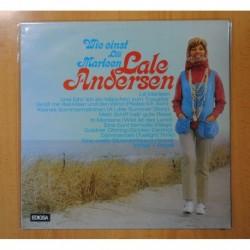 LALE ANDERSEN - WIE EINST LILI MARLEEN - LP