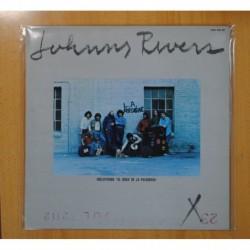 JOHNNY RIVERS - L.A. REGGAE - EDICION ESPAÑOLA - LP