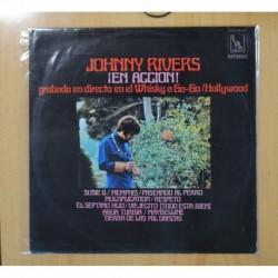 JOHNNY RIVERS - Â¡EN ACCION! - LP