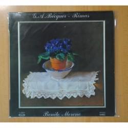 BENITO MORENO - G.A. BECQUER-RIMAS - LP