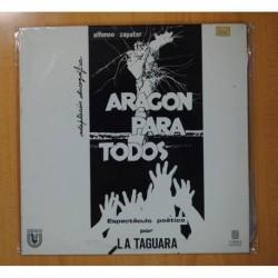 LA TAGUADA - ARAGON PARA TODOS - GATEFOLD - LP