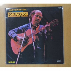 TOM PAXTON - SOMETHING IN MY LIFE - LP
