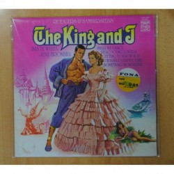 INIA TE WIATA / JUNE BRONHILL (RODGERS & HAMMERSTEINS) - THE KING AND J - LP