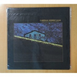 VARIOS - GABONAK HERRIKO JAIAK (GRABACION ESPECIAL DE MUSICA AUTOCTONA VASCA) - GATEFOLD - LP