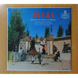 JOSE LUIS LLORET / ORQUESTA DE CAMARA DE MADRID - JOTAS - LP
