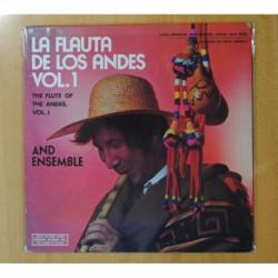 LOS INDIOS DE LOS ANDES - LA FLAUTA DE LOS ANDES VOL. 1 - LP