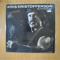KRIS KRISTOFFERSON AND THE BORDERLORDS - REPOSSESSED - LP