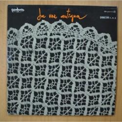 VARIOUS - LA VOZ ANTIGUA - 2 LP