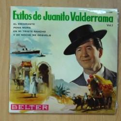 JUANITO VALDERRAMA - EXITOS VOL 1 - EL EMIGRANTE + 3 - EP