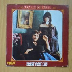 WAYLON & JESSI - STORMS NEVER LAST / I AIN´T THE ONE - SINGLE