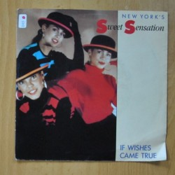 NEW YORK´S SWEET SENSATION - IF WISHES CAME TRUE / LOVE CHILD - SINGLE