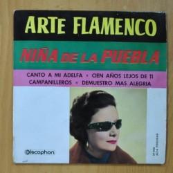 NIÑA DE LA PUEBLA - CANTO A MI ADELFA + 3 - EP