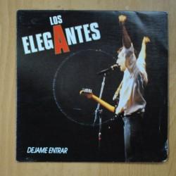 LOS ELEGANTES - DEJAME ENTRAR - SINGLE
