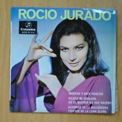 ROCIO JURADO - MORENO Y BIEN PARECIDO + 4 - EP