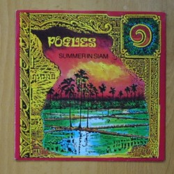 THE POGUES - SUMMER IN SIAM / BASTARD LANDLORD - SINGLE