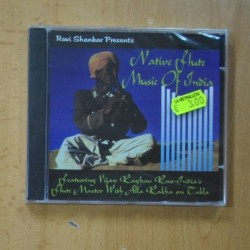 RAVI SHANKAR - NATIVE FLUTE MUSIC OF INDIA - CD