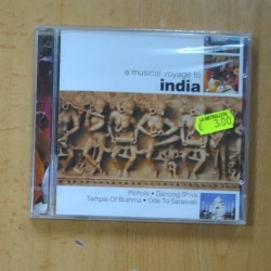 VARIOS - A MUSICAL VOYAGE TO INDIA - CD