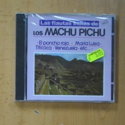 VARIOS - LAS FLAUTAS INDIAS DE LOS MACHU PICHU VOL 2 - CD