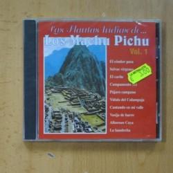 VARIOS - LAS FLAUTAS INDIAS DE LOS MACHU PICHU VOL 1 - CD