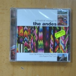 VARIOS - A MUSICAL VOYAGE TO THE ANDES - CD
