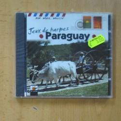JEUX DE HARPES PARAGUAY - CD