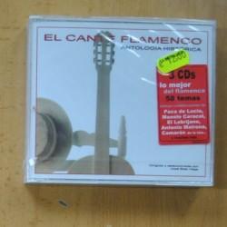 VARIOS - EL CANTE FLAMENCO ANTOLOGIA HISTORICA - 3 CD