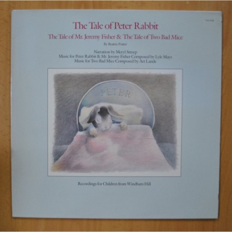 VARIOS - THE TALE OF PETER RABBIT - LP