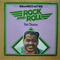 FATS DOMINO - LOS GRANDES MITOS DEL ROCK AND ROLL - LP