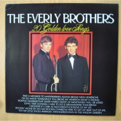 THE EVERLY BROTHERS - 20 GOLDEN LOVE SONGS - VINILO AZUL - LP