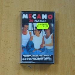 MECANO - 20 GRANDES CANCIONES - CASSETTE