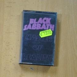 BLACK SABBATH - MASTER OF REALITY - CASSETTE
