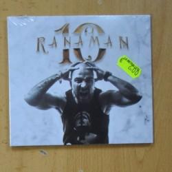 RANAMAN - 10 AÑOS - CD