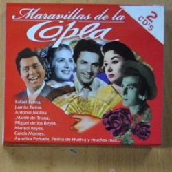 VARIOUS - MARAVILLAS DE LA COPLA - 2 CD