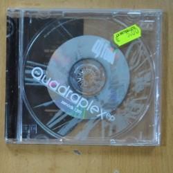 DE FOOD - THE QUADRAPLEX EP - CD