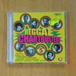 REGGAE CHARTBUSTERS - VARIOS - CD