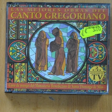 CORO MONJES MONASTERIO BENEDICTINO SANTO DOMIGNO DE SILOS - CANTO GREGORIANO - CD