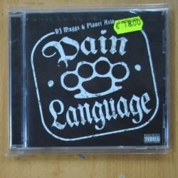 DJ MUGGS & PLANET ASIA - PAIN LANGUAGE - CD