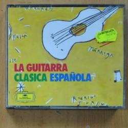 VARIOUS - LA GUITARRA CLASICA ESPAÑOLA - 2 CD