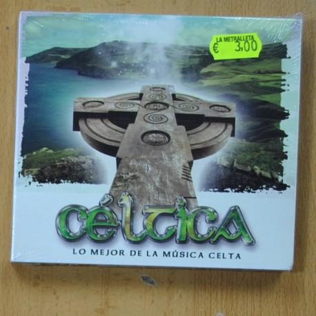 VARIOUS - LO MEJOR DE LA MUSICA CELTICA - CD
