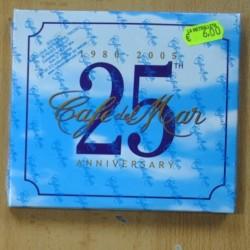 VARIOUS - CAFE DEL MAR - 25 ANNIVERSARY - 3 CD