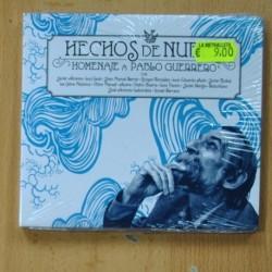 VARIOUS - HECHOS DE NUBES - HOMENAJE A PABLO GUERRERO - CD