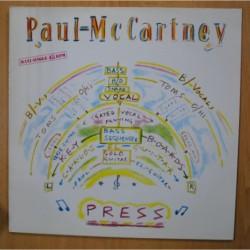 PAUL MCCARTNEY - PRESS - MAXI