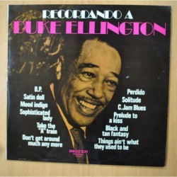 DUKE ELLINGTON - RECORDANDO - LP