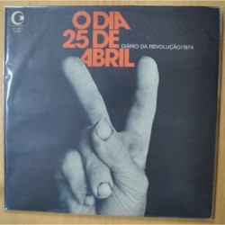 VARIOS - DIARIO DA REVOLUCAO 1974 O DIA 25 DE ABRIL - 2 LP